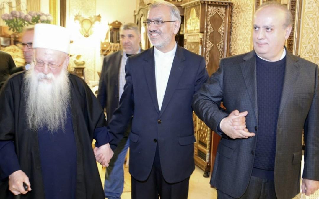 وهاب يواصل تقبل التعازي بالشهيد أبو ذياب لليوم السادس على التوالي فاسقبل الوزير ماريو عون معزياً