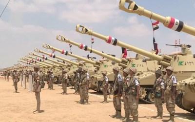 هجوم إرهابي لداعش يؤدي لاستشهاد ضابط و14 جندي مصري في سيناء ومقتل 7 ارهابيين