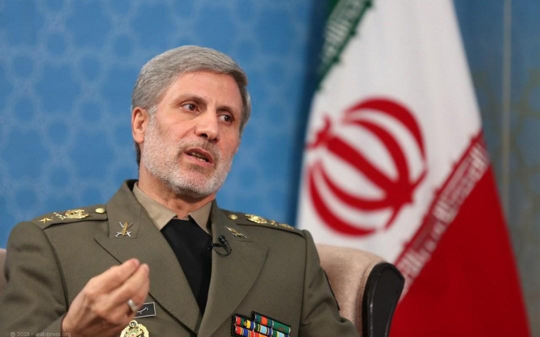 وزير الدفاع الإيراني: تجاربنا الصاروخية أمر طبيعي
