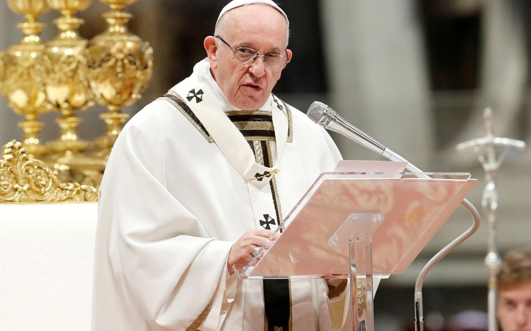 البابا فرنسيس: لا يمكننا أن نقبل عن أي شكل من أشكال العنصرية أو الإقصاء
