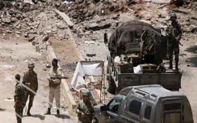 """الجيش السوري يدمر مواقع لإرهابيي """"النصرة"""" في ريفي حماة وإدلب"""