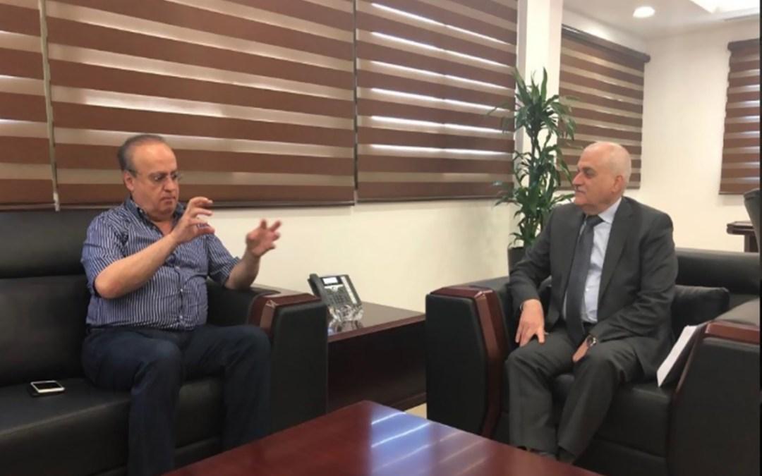 وهاب بعد زيارته الوزير جبق: لزيادة موازنة الوزير جبق حتى لا يقف لبناني على أبواب المستشفيات