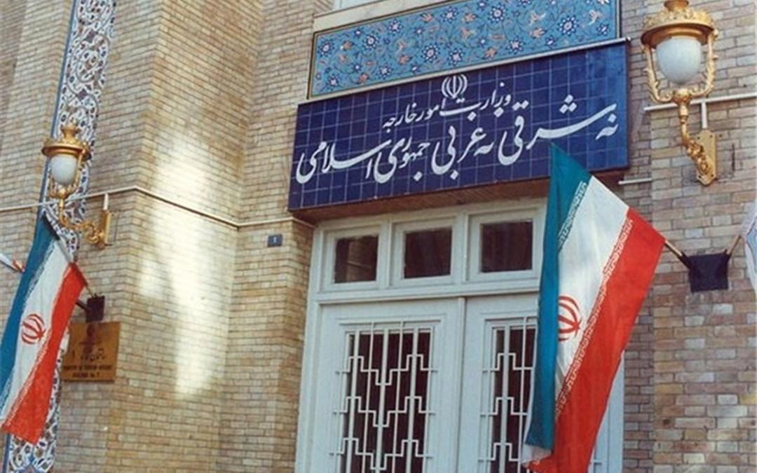 خارجية ايران: موضوع لبنان ملف داخلي يجب حله ضمن البيت اللبناني
