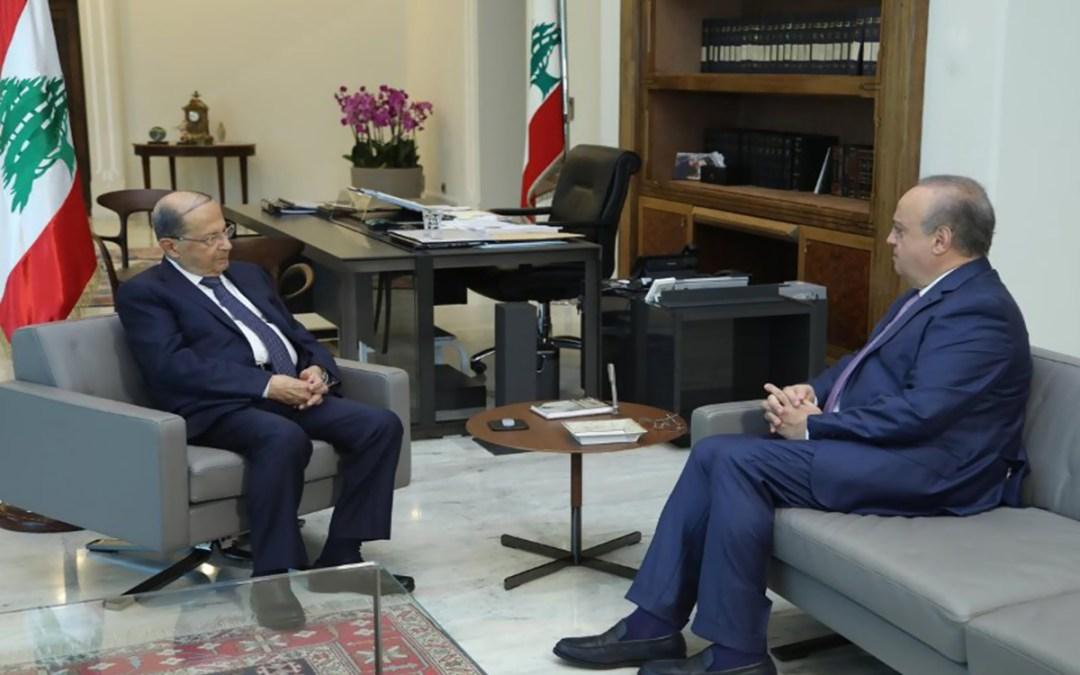 وهاب من بعبدا: الرئيس عون حريص على كل مكونات الجبل والعيش المشترك