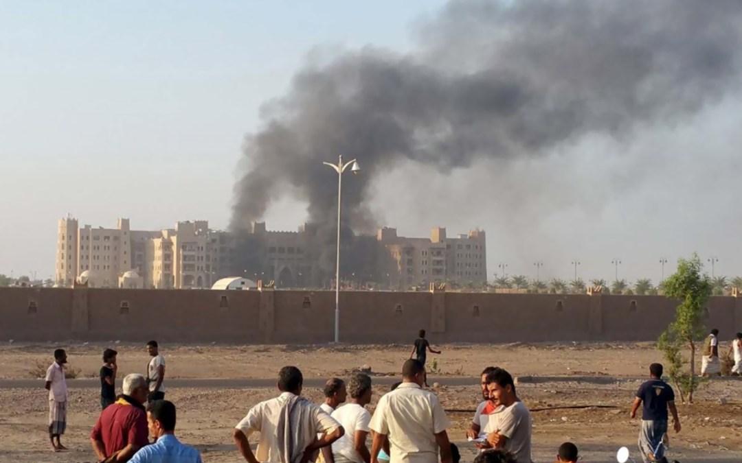 سقوط العشرات من رجال الشرطة بين قتيل وجريح في هجوم ثان في عدن