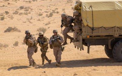 الشرطة المصرية أعلنت مقتل 13 ارهابيا بعد اشتباكات معهم في شمال سيناء