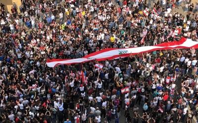 الاحتجاجات في يومها السابع.. وهذه الطرقات المقطوعة