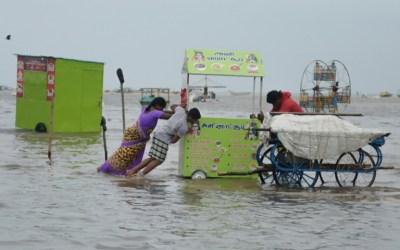 مقتل 17 شخصا بانهيار جدار في الهند بسبب الأمطار الغزيرة