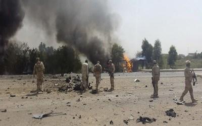 سقوط صاروخين على قاعدة تضم قوات أجنبية في العراق