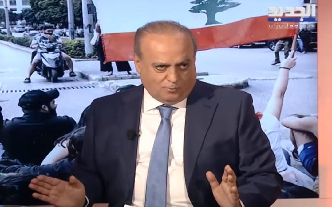 """وهاب للرئيس دياب عبر """"الجديد"""": إذا لم تهاجم العصابة ستهاجمك وعليك التحالف مع المواطنين"""
