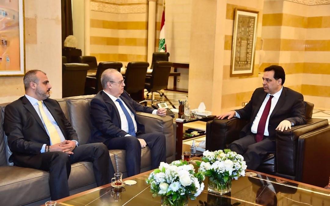 وهاب بعد زيارته الرئيس دياب: نتمنى على الجميع الخروج من قوقعاتهم إلى رحاب الوطن ودياب فرصة حقيقية للبنان