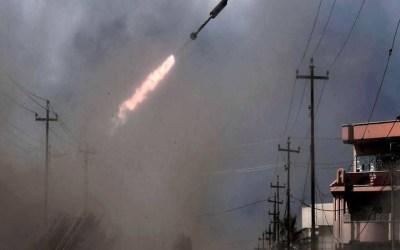 سقوط صاروخي كاتيوشا على المنطقة الخضراء وسط بغداد
