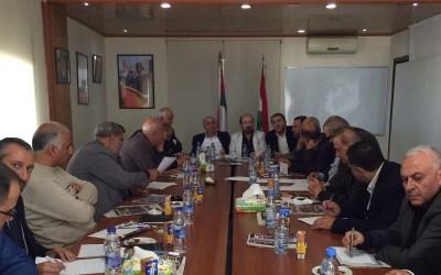 لقاء الاحزاب في اقليم الخروب: نؤيد عدم الخضوع لصندوق النقد