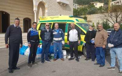 وهاب وضع سيارة إسعاف بتصرف البلدية الرابطة وأبناء البلدة