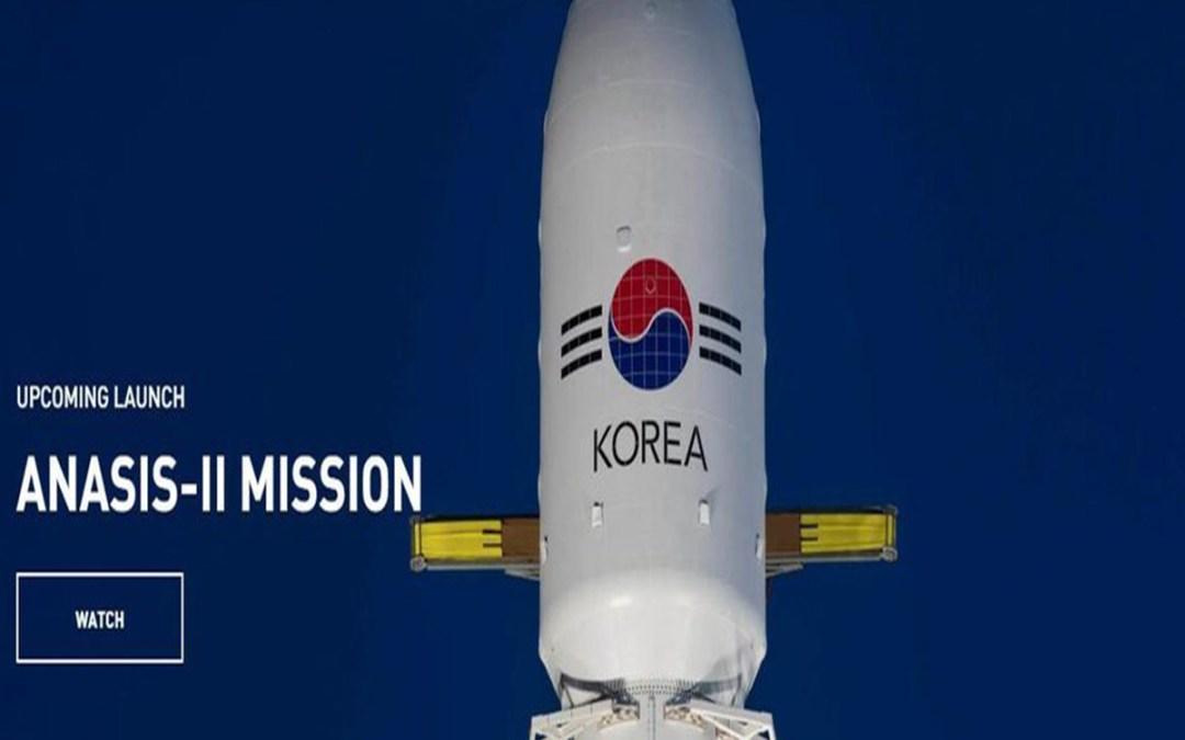 إطلاق أول قمر صناعي عسكري لكوريا الجنوبية