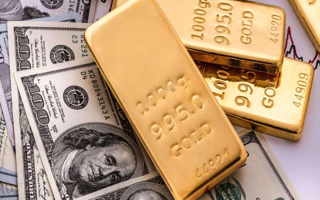 سعر أونصة الذهب يتجاوز الـ 1800 دولار للمرة الأولى منذ عام 2011