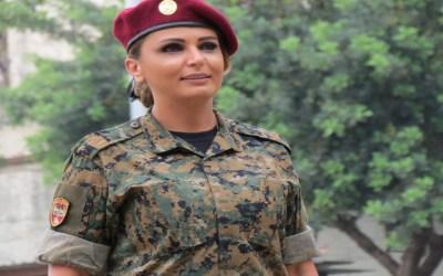 اغنية جديدة للفنانة والاعلامية داليا فريفر بمناسبة عيد الجيش