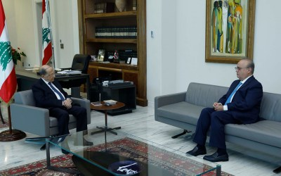 وهاب عرض مع الرئيس عون الأوضاع في الساحتين المحلية والإقليمية