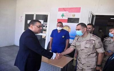 القاهرة تعلن بدء استقبال المستشفى الميداني المصري في لبنان لمصابي انفجار مرفأ بيروت الضخم