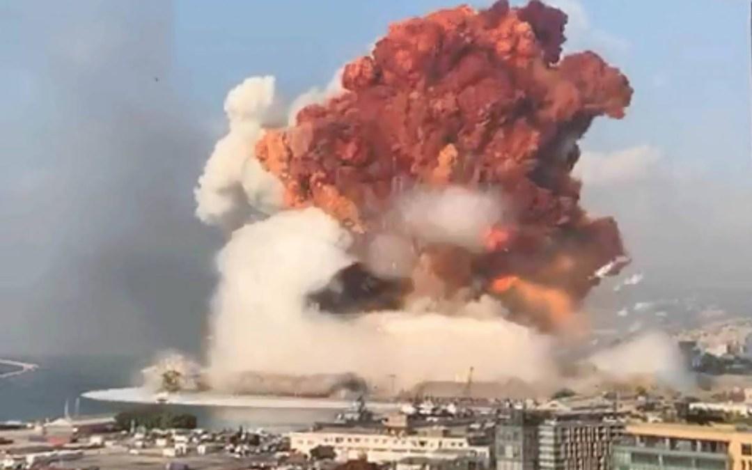 الجيش: دقيقة صمت في ذكرى مرور شهر على انفجار المرفأ