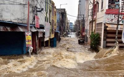 مقتل 30 شخصا جنوب الهند جراء الأمطار الغزيرة