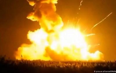 التلفزيون السوري: دوي انفجارات متتالية في الريف الجنوبي للقنيطرة