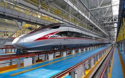 """الصين تكشف عن قطار """"طلقة"""" يمكن تشغيله في درجة حرارة 40 تحت الصفر"""