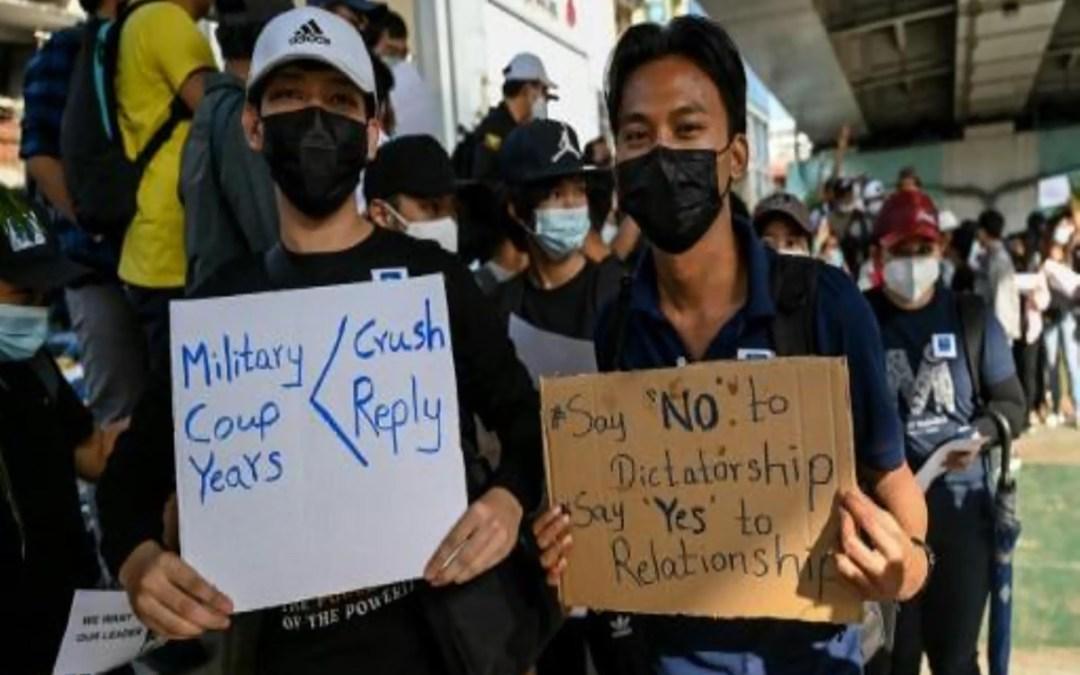 تظاهرات جديدة في رانغون بعد نشر الجيش البورمي