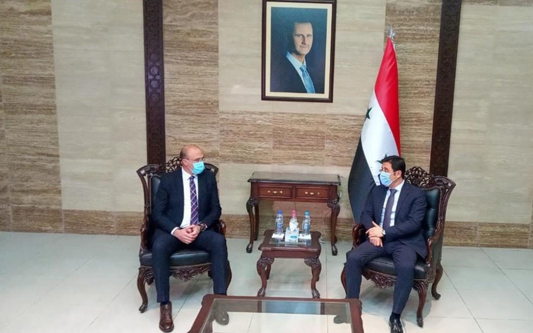 التوحيد العربي يشكر للرئيس الأسد مد يد العون