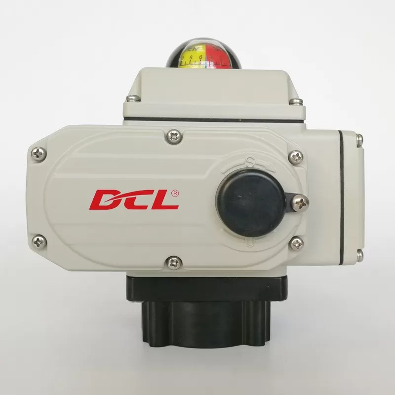 3S/15Nm Quick Open Electric Actuator on-off,0-90° adjustable with compact structure
