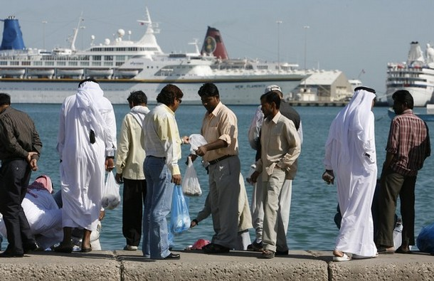 Image result for tourists in Qatar, photos