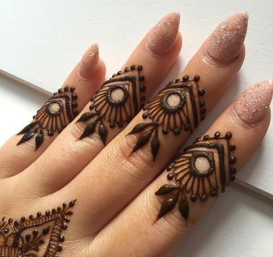Charming Collection Designer Latest Finger Mehndi Designs 2020 For Parties