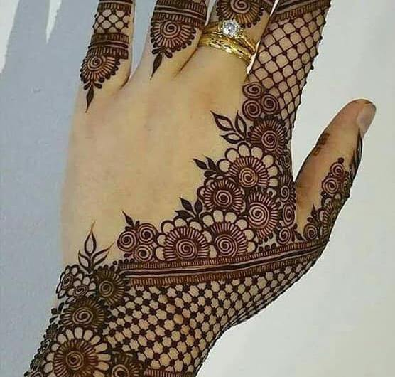 For Hands And Feet Latest Engagement Mehndi Designs 2019