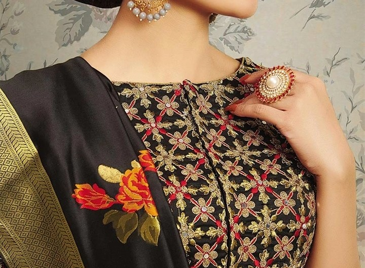 Party Wear Designer Latest Blouse Designs Front And Back