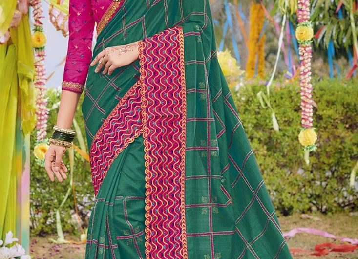 Silk Thread New Bridal Saree Designs 2019 With Stylish Blouse Designs Designer Collection
