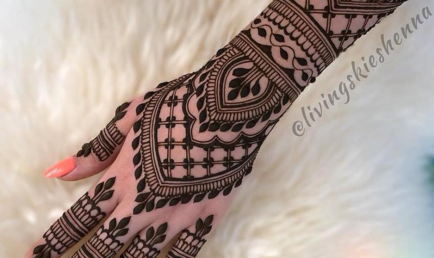 Stylish Collection Designer Latest Bridal Mehndi Designs 2019 For Walima