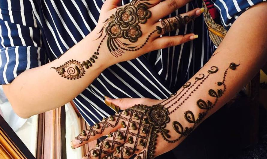 Try These Simple Mehndi Designs 2019 Easy Collection For Navratri