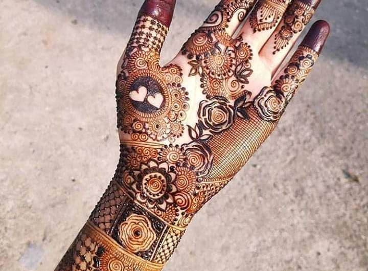 Traditional Styles New Engagement Mehndi Designs 2019 For Ideas