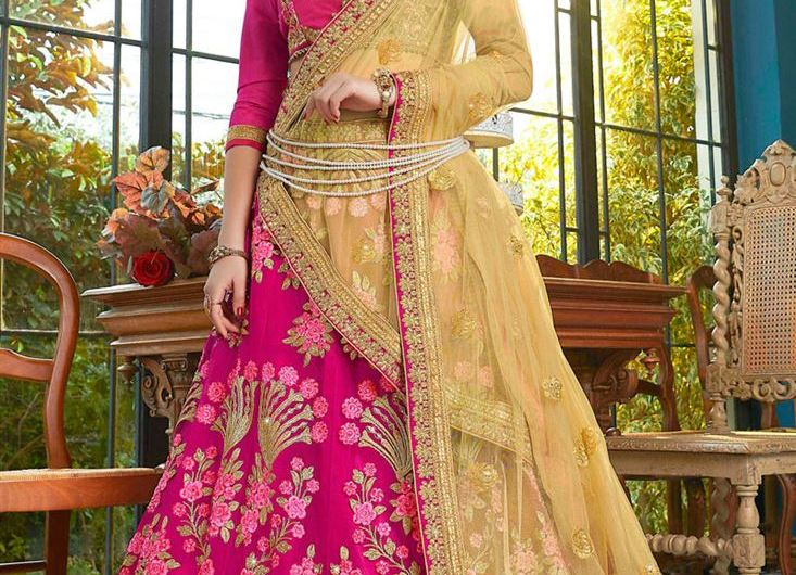 Simple Bridal Lehenga Designs 2019 New Wedding Collection