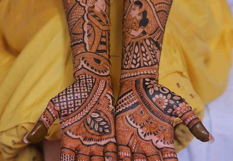 Traditional Bridal Mehndi Designs 2019 New Wedding Collection