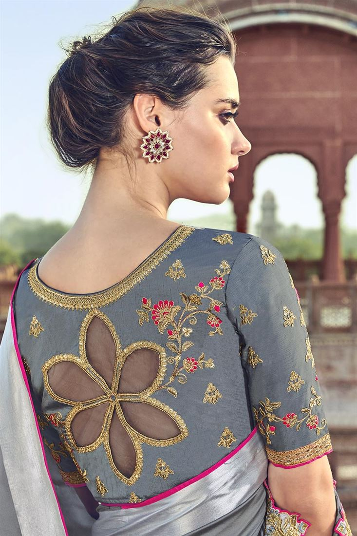 Download Latest Engagement Blouse Designs 2020 Images With Stylish