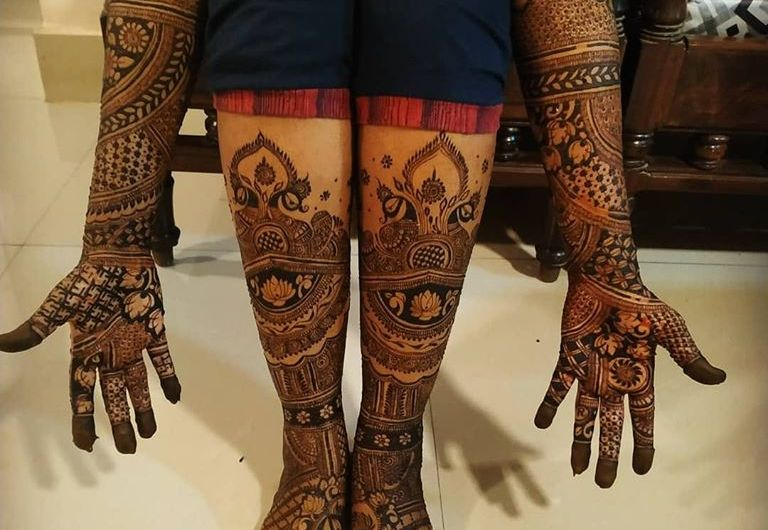 New Bridal Mehndi Design 2020 Latest Images Of Charming Henna Designs