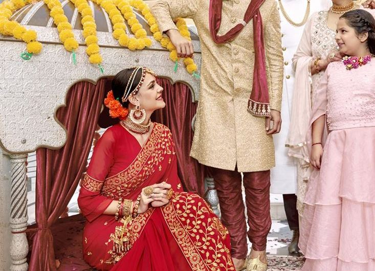 HD Images Of Red Bridal Saree Designs 2020 Latest Indian Styles