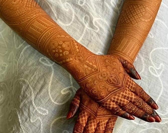 Indian Trending Mehndi Designs 2020 For Wedding