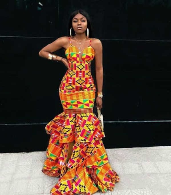 Latest African Print Dresses 2020 For Teenagers