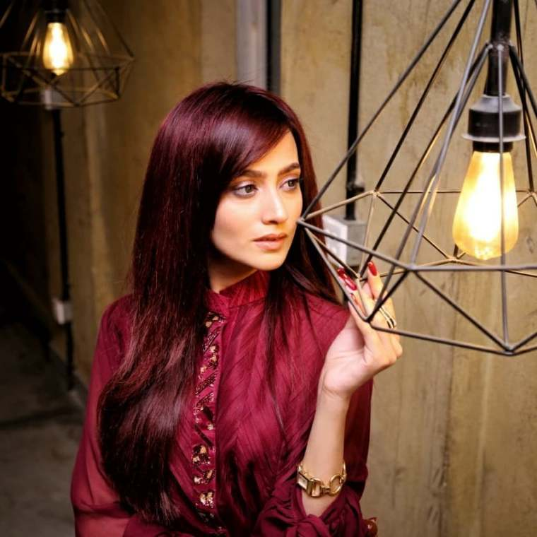 Latest Pictures Of Actress Zarnish Khan In Awesome Styles