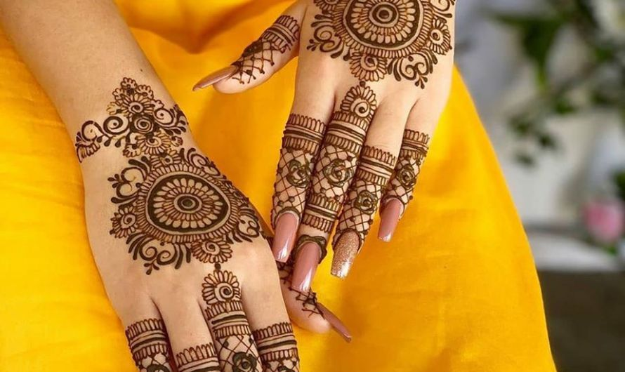 Simple Engagement Mehndi Designs 2020 Latest Images