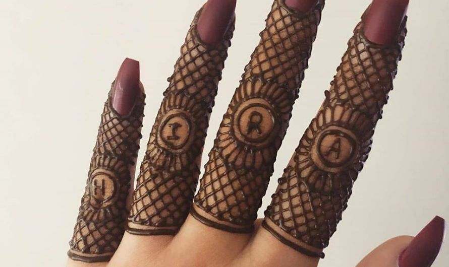 Beautiful Bridal Arabic Finger Mehndi Designs 2020 Latest Collection