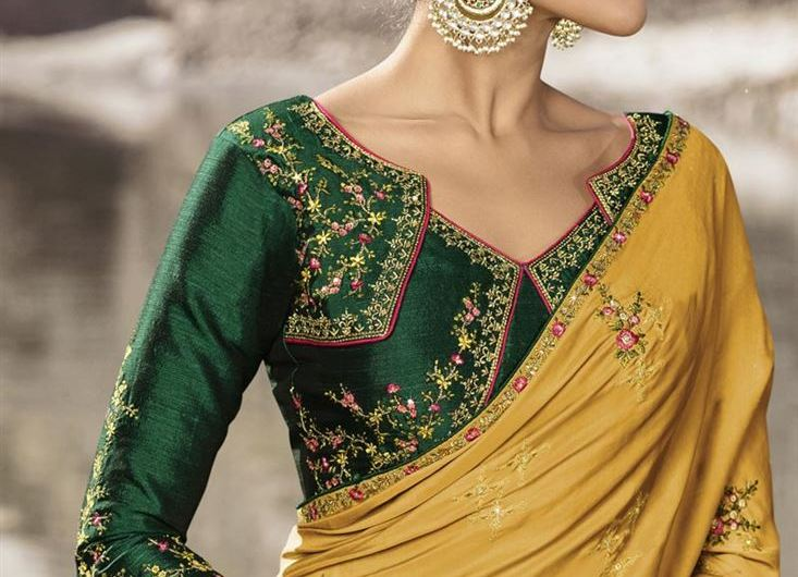 Beguiling Embroidered Party Style Latest Blouse Designs 2020 Indian Collection