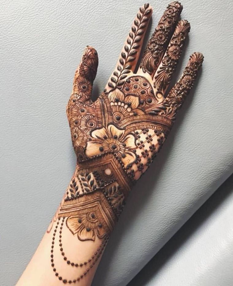 New Style Latest Bridal Mehndi Designs 2020 Best Collection For Wedding Arabic Mehndi Design